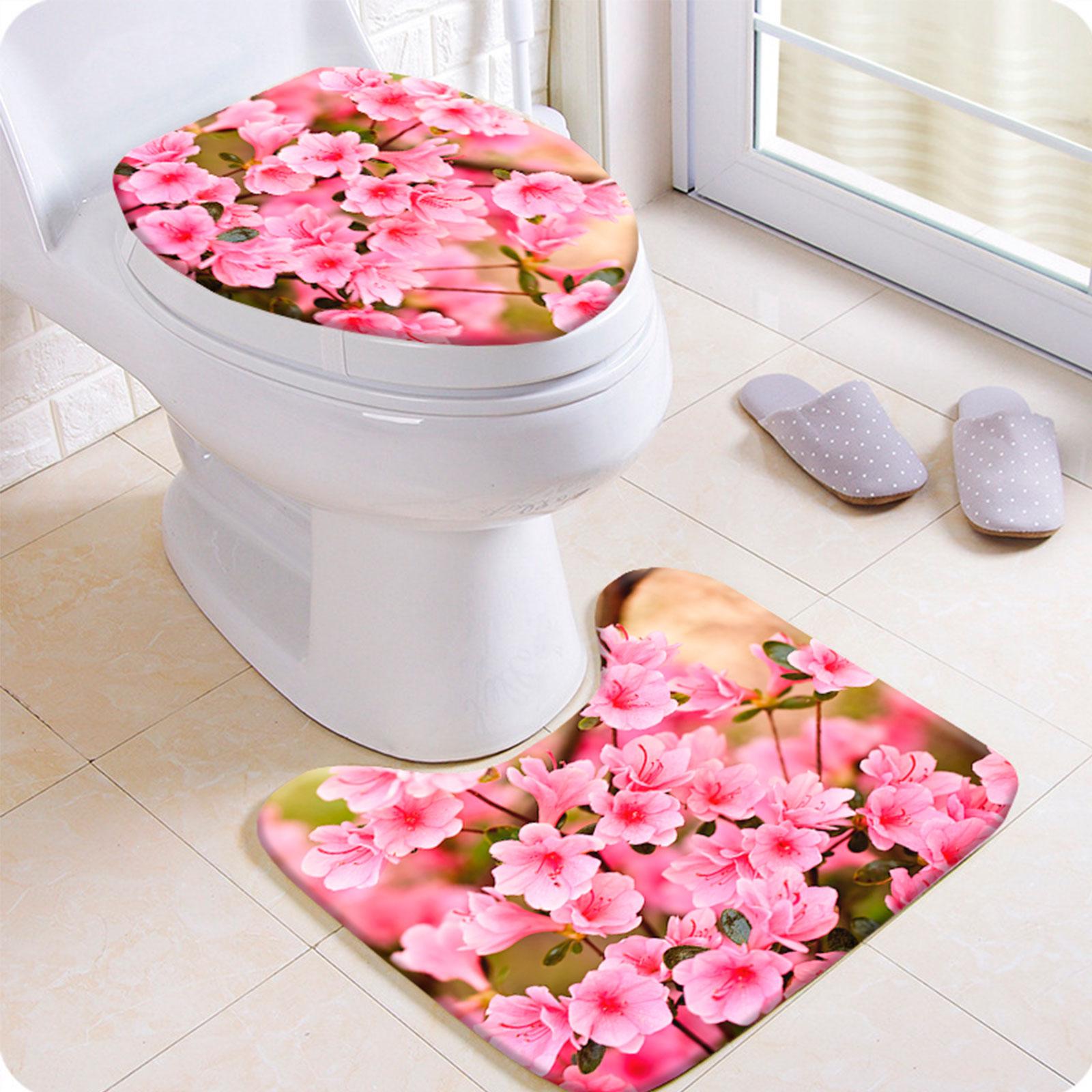 """Комплект для туалета """"Весенние цветы"""""""