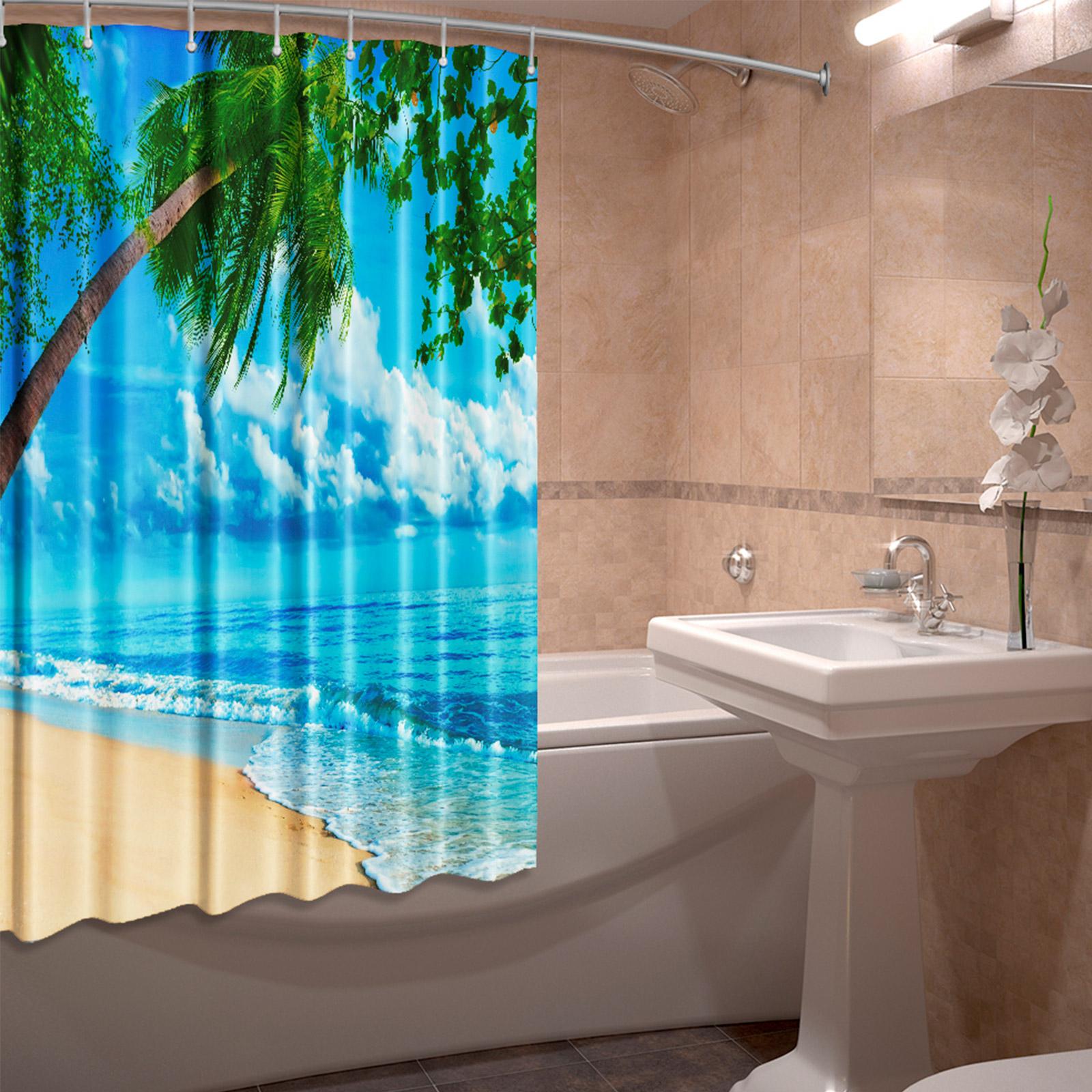 Штора для ванной комнаты «Божественное счастье»