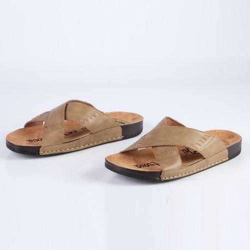 Мужские сандалии на широких ремешках