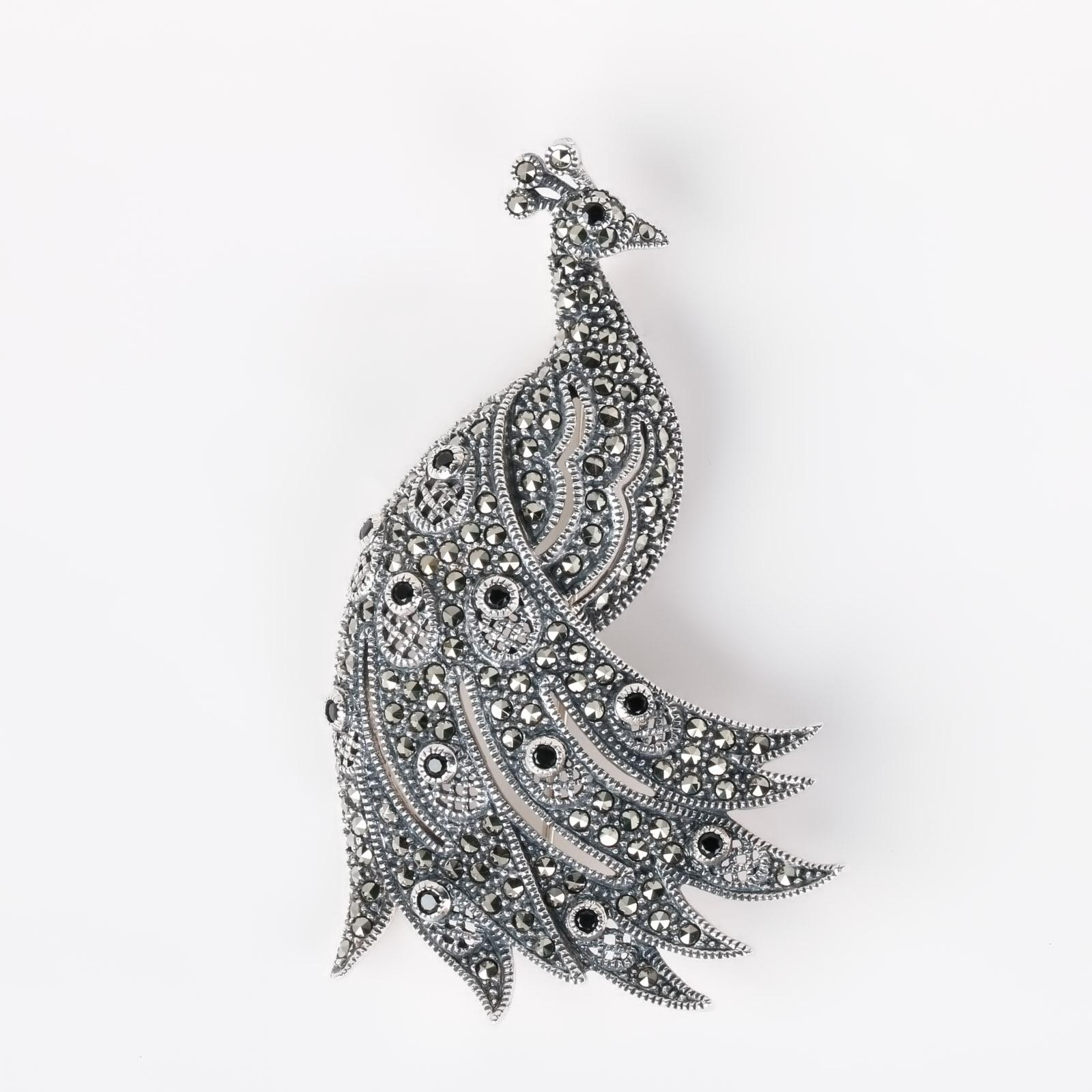 Брошь «Птица мира»