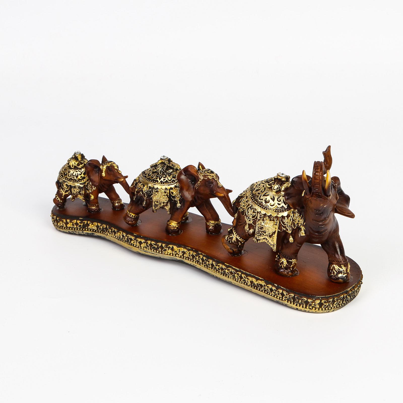 Фигурка декоративная «Слоны»