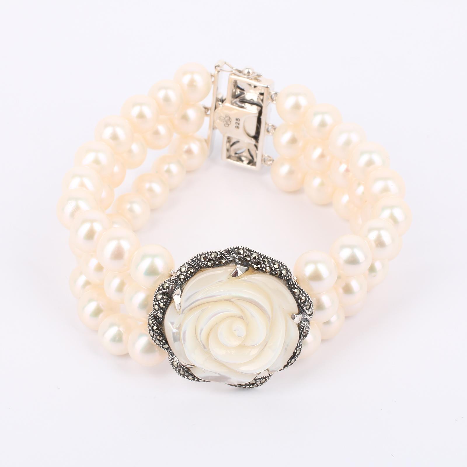 Браслет «Каменный цветок»