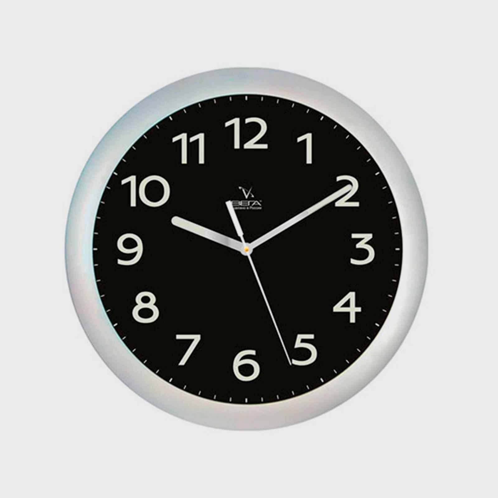 Часы настенные светящиеся