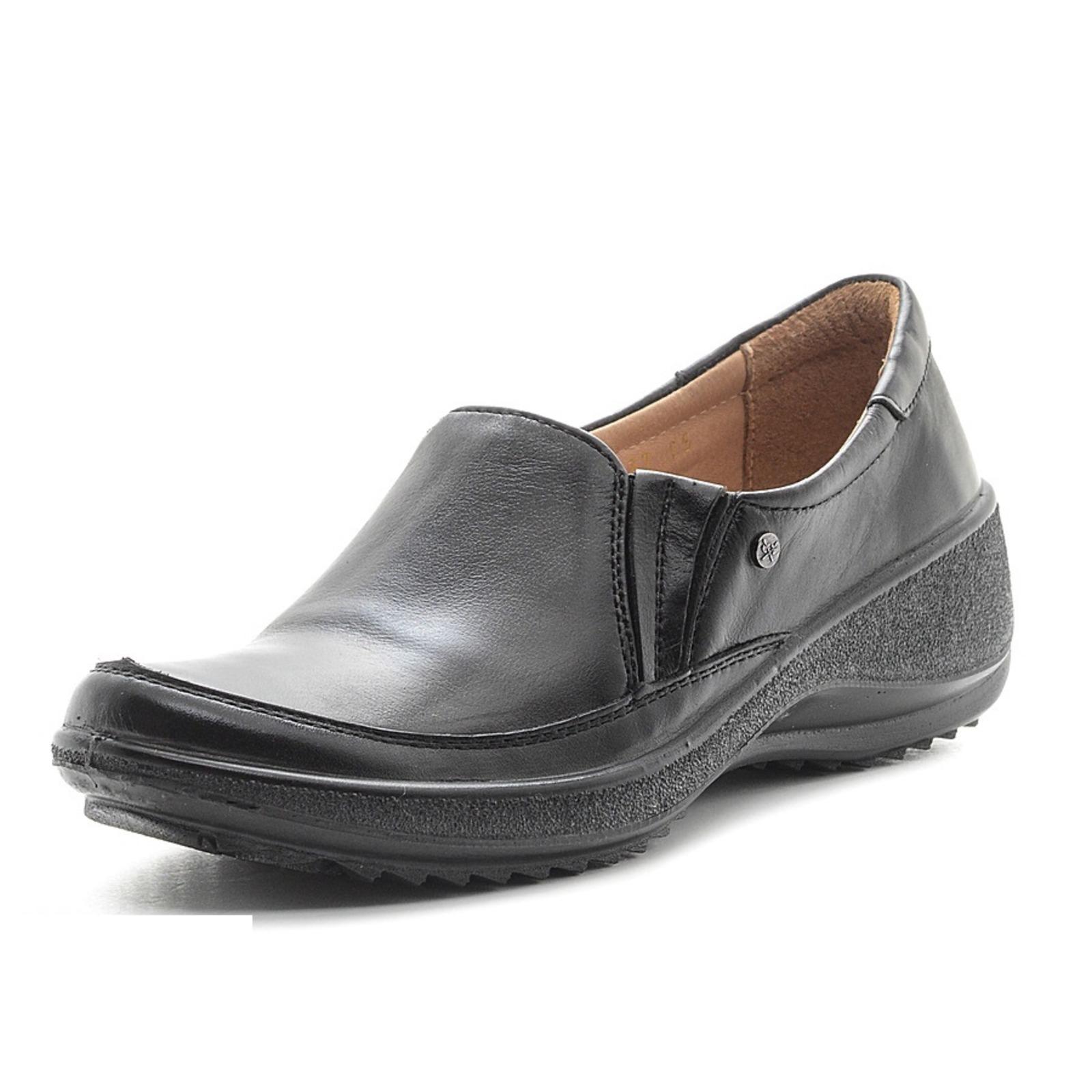 Женские туфли с элacтичными вставками