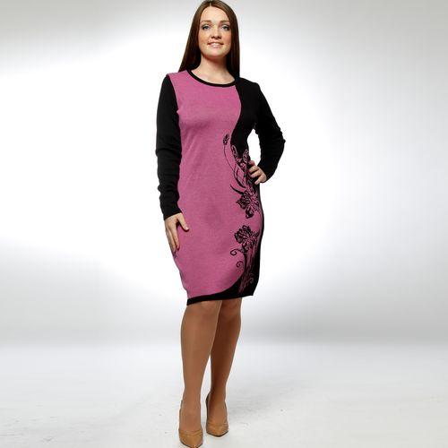 Платье контрастного цвета с цветочным принтом одеяло лавандового цвета с принтом brums ут 00011835