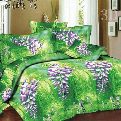 Комплект постельного белья «Шалфей на зеленом»