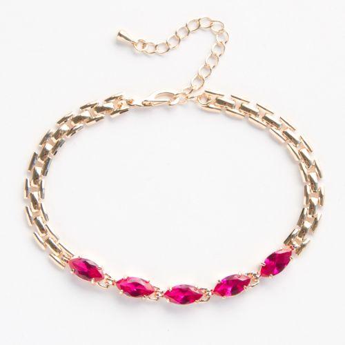 Браслет «Рубиновая леди»