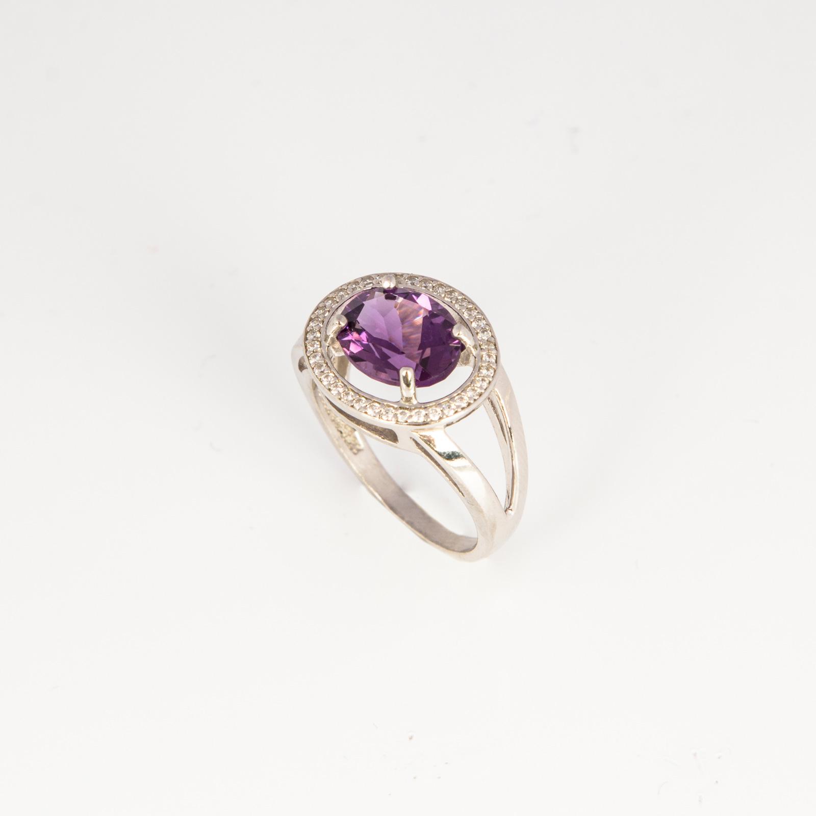 Серебряное кольцо «Анжелика»