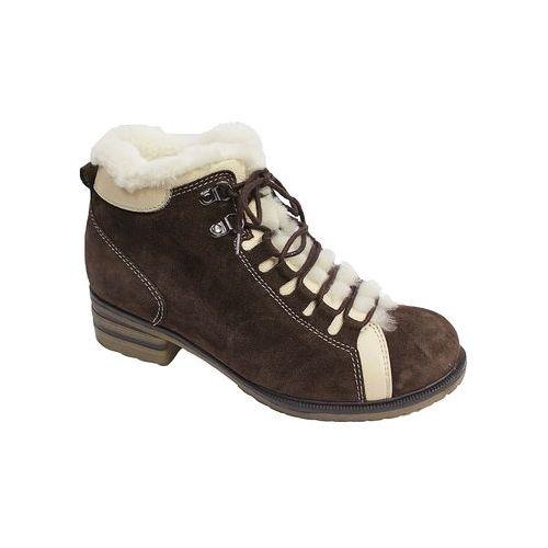 Зимние женские ботинки с меховой опушкой