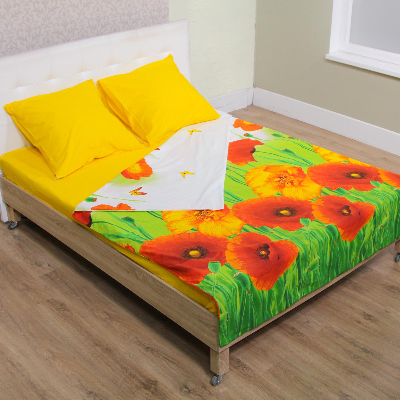 Комплект постельного белья «Летние маки»