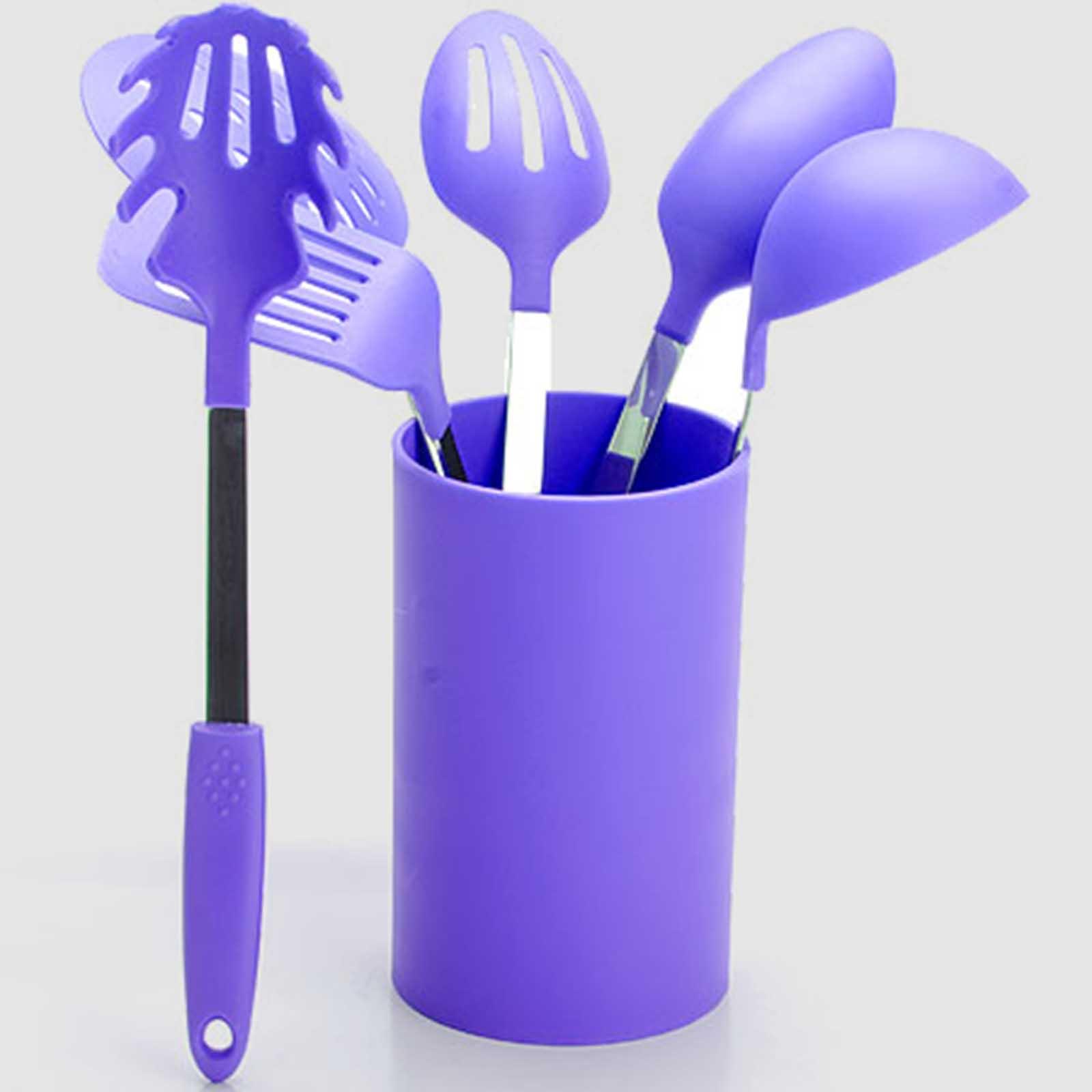 Набор кухонных приборов «Фиалка», 7 предметов