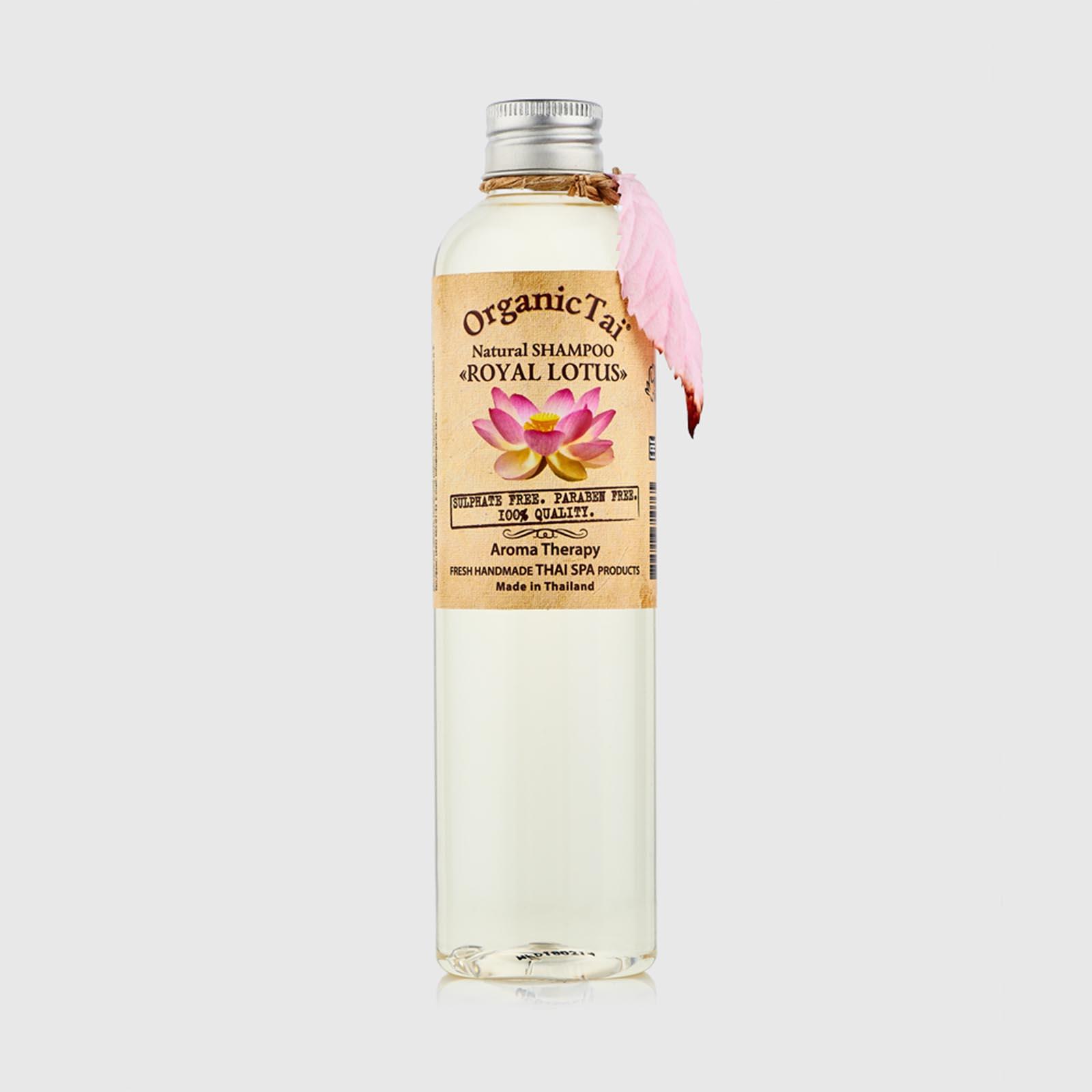 Натуральный шампунь для чувствительной кожи «Королевский лотос»