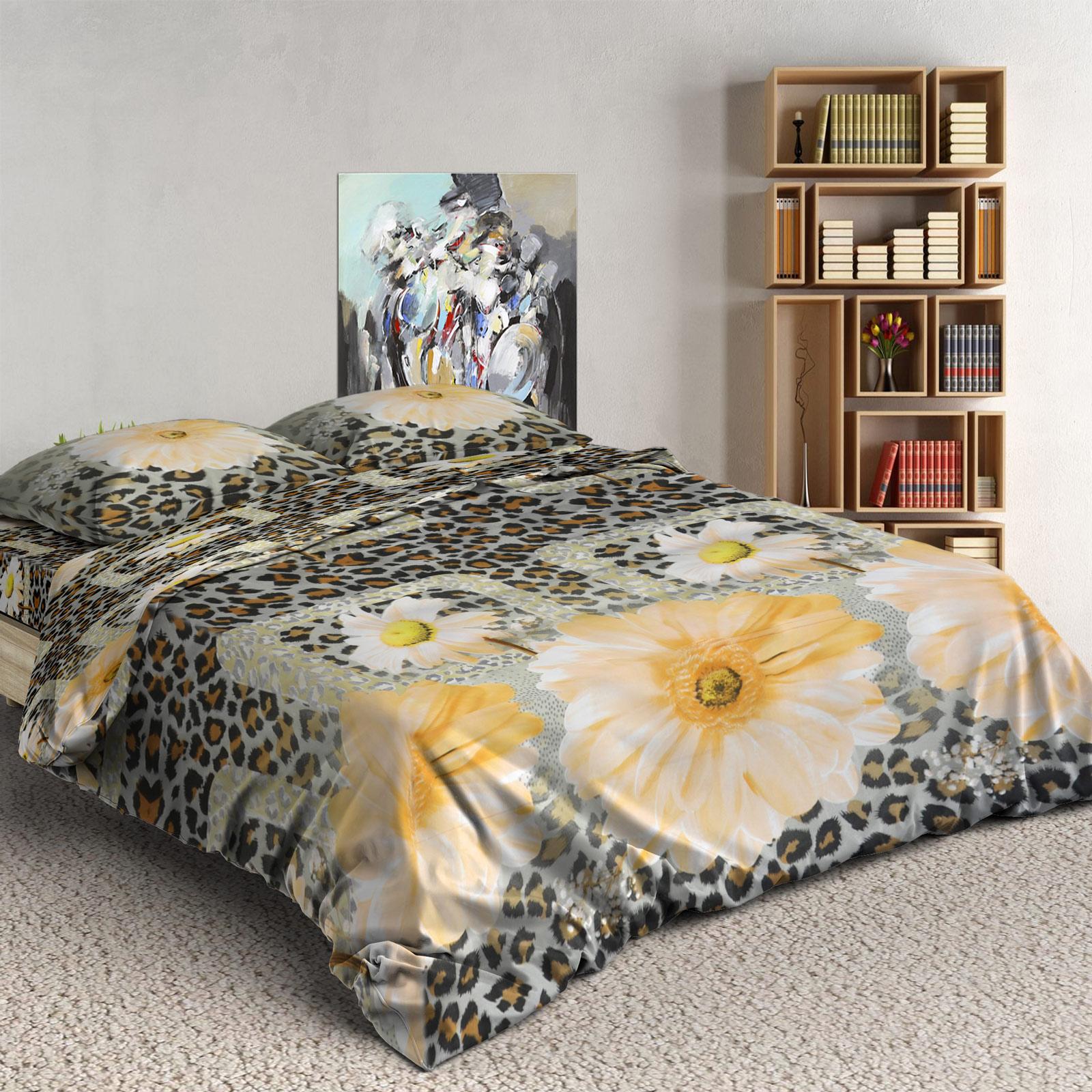 Комплект постельного белья «Винтажные герберы»