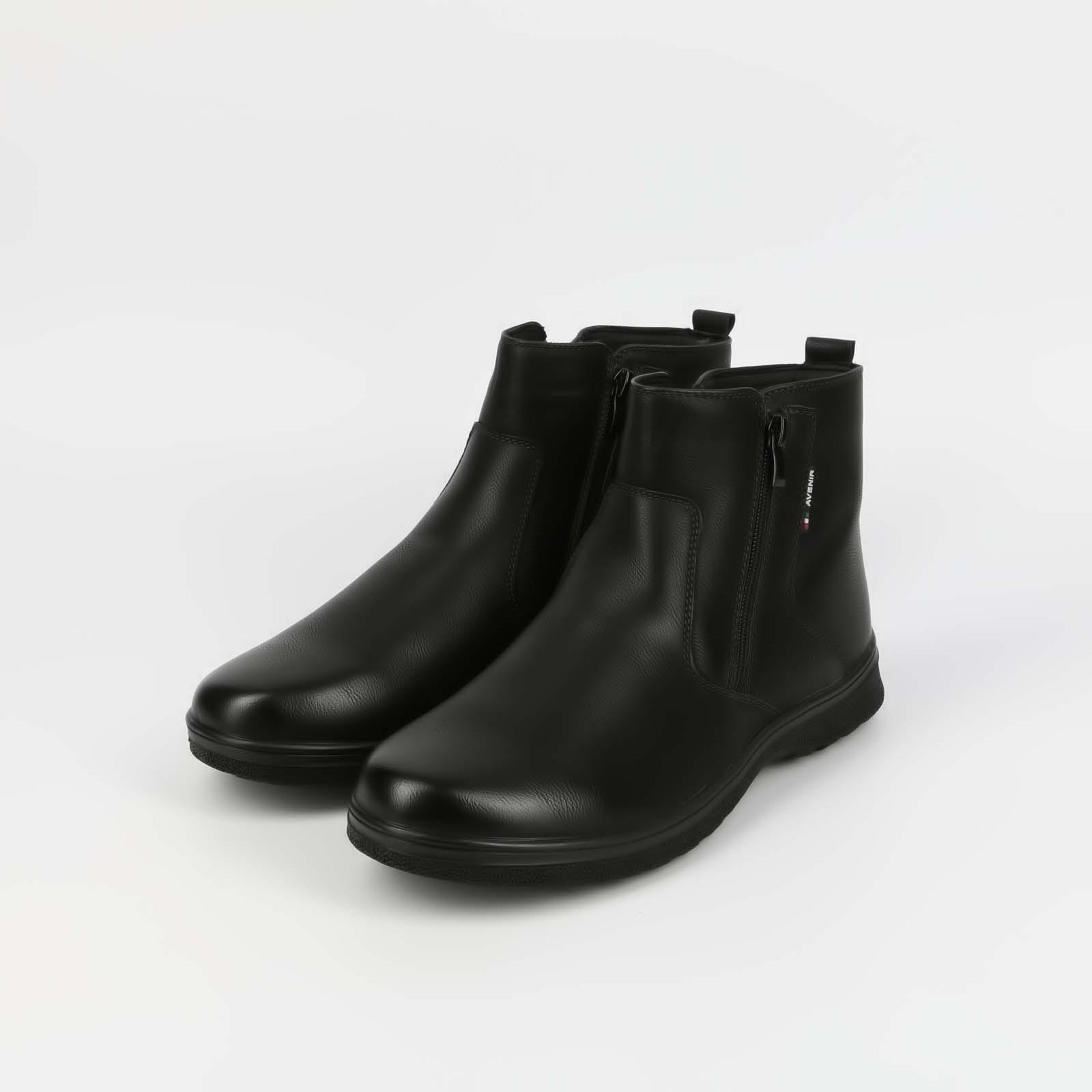 Ботинки мужские с отстрочкой