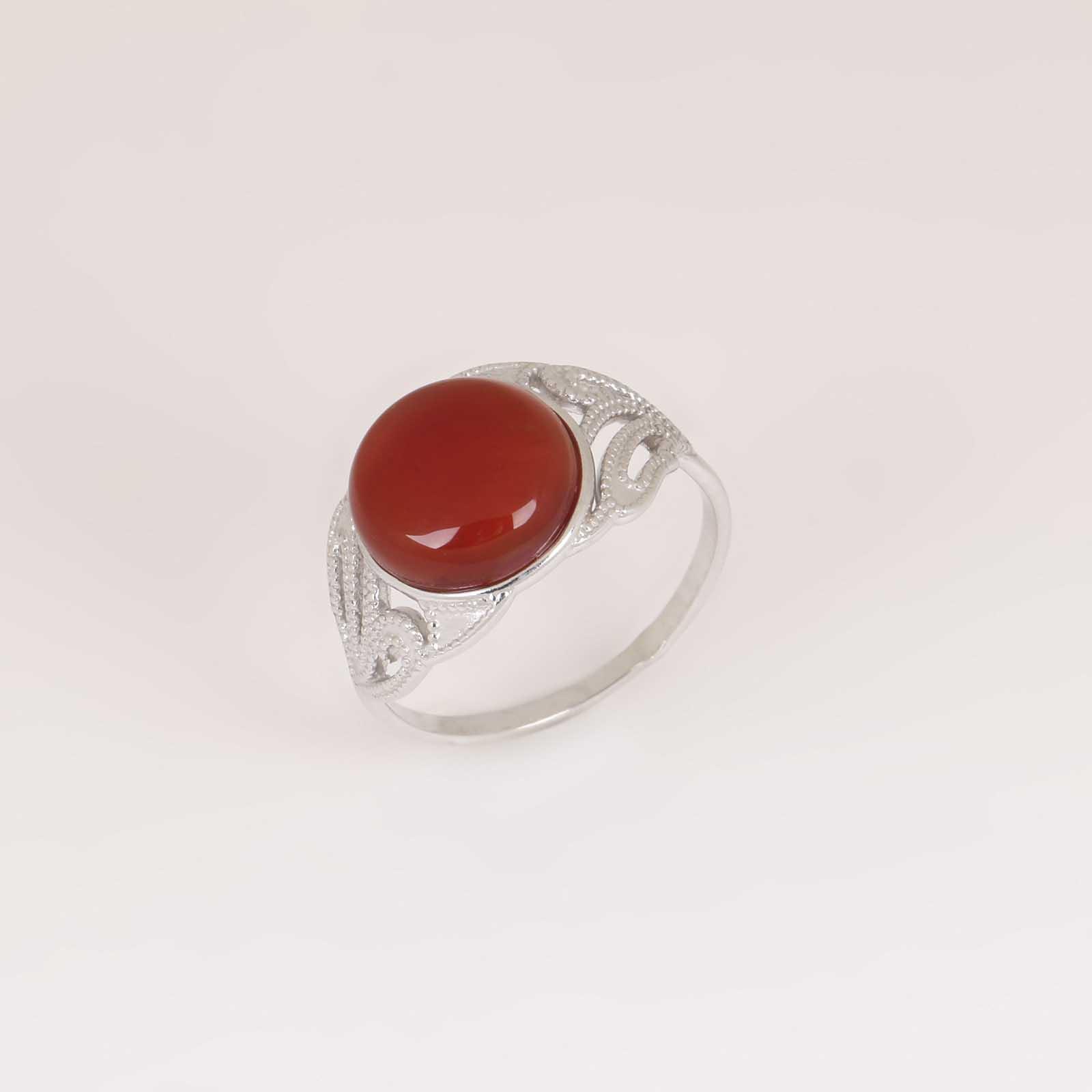 Серебряное кольцо «Желание»