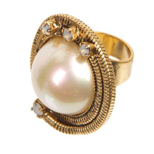 Кольцо «Белый бархат»