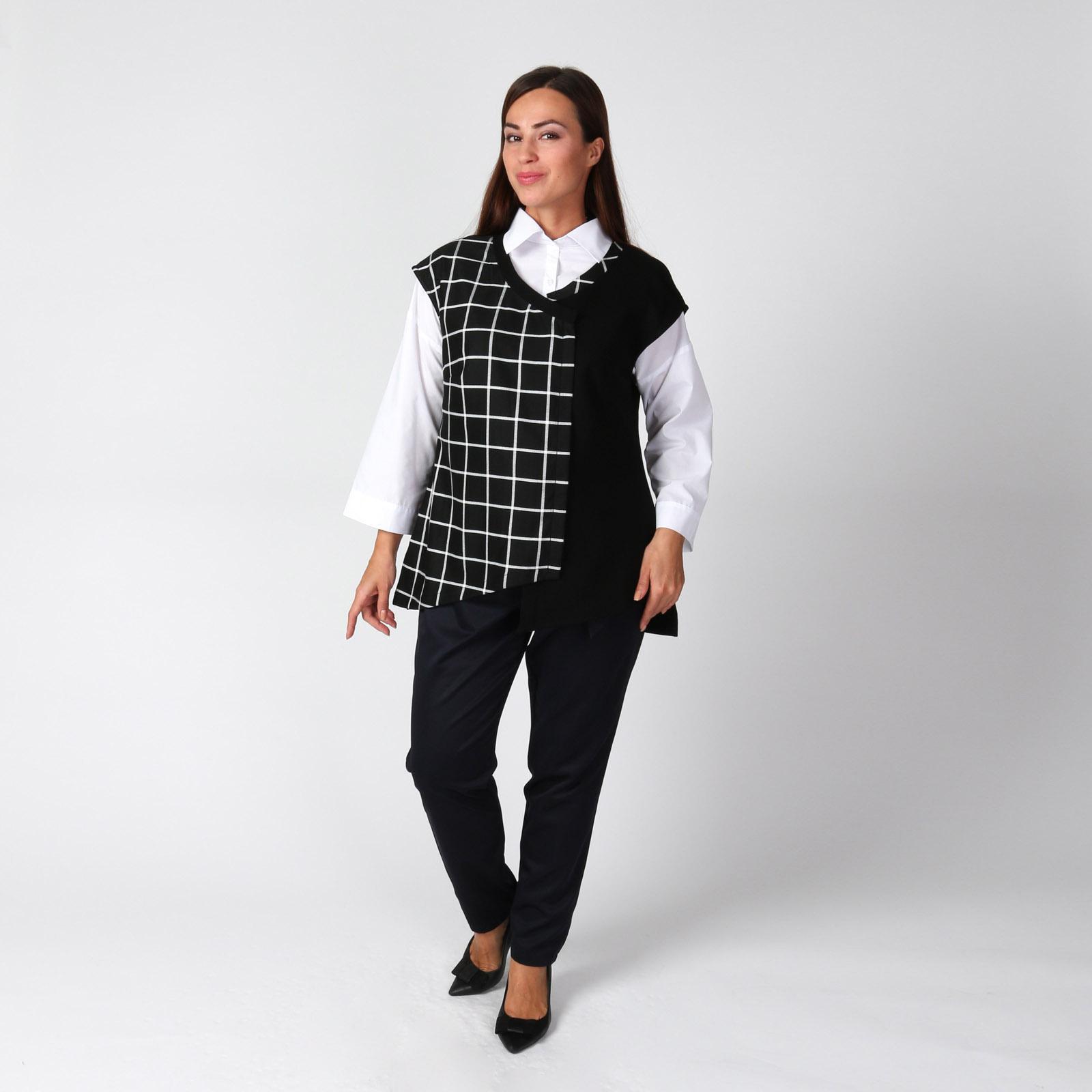 Комплект: блуза и жилет