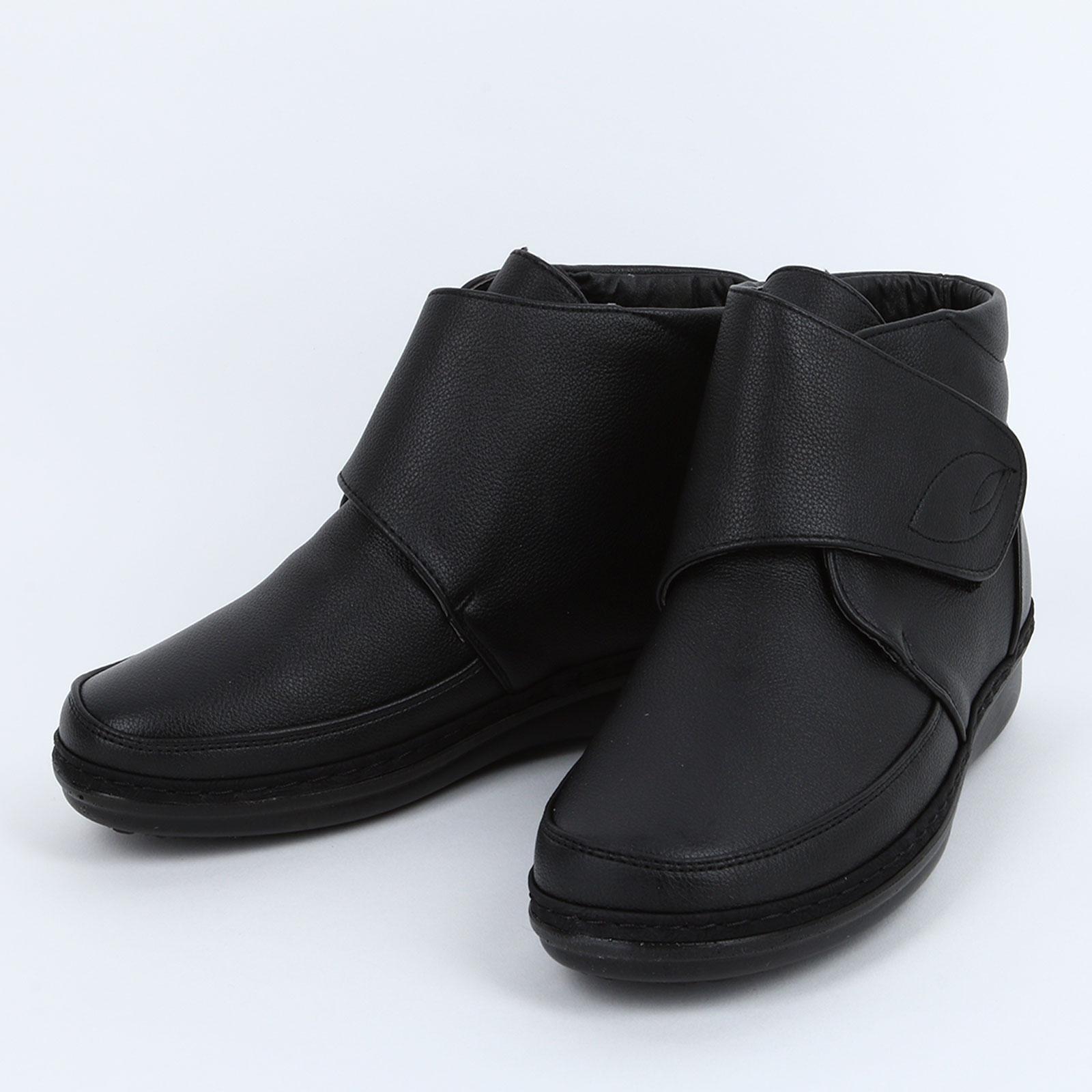 Высокие женские ботинки на липучке