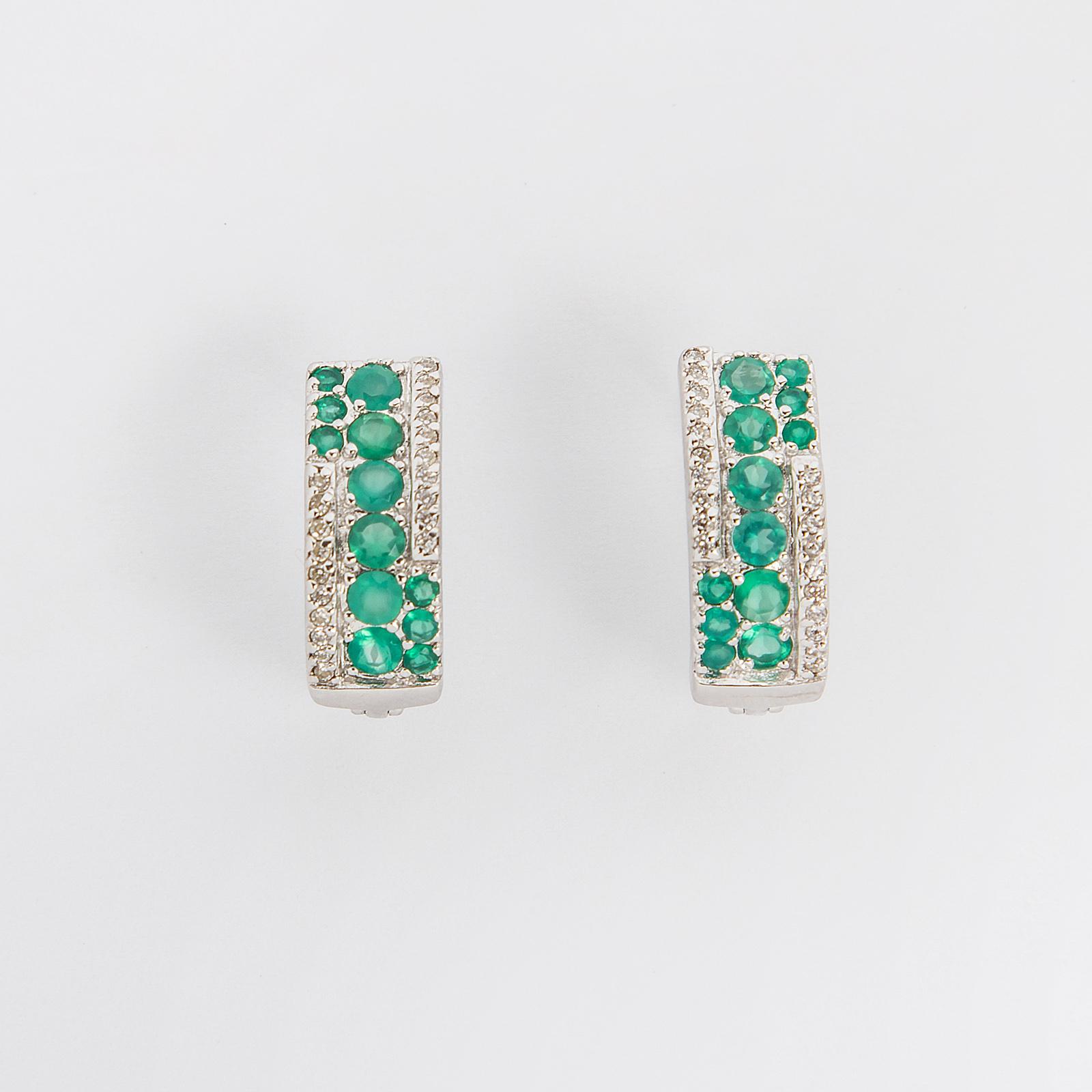Серебряные серьги «Весеннее цветение»