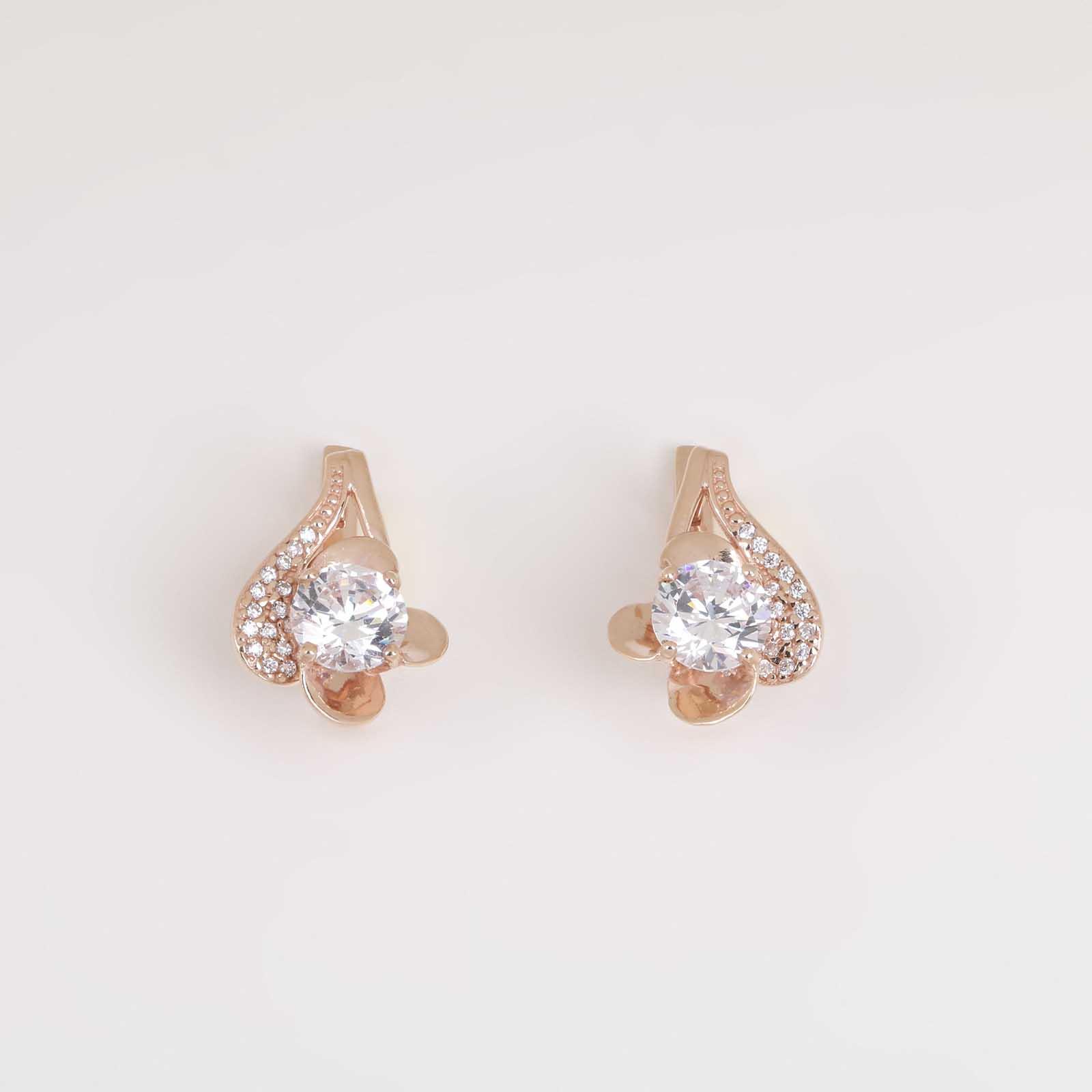 Серебряные серьги  «Волшебство»