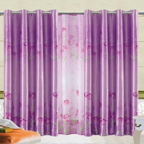 Комплект штор «Лиловые тюльпаны»