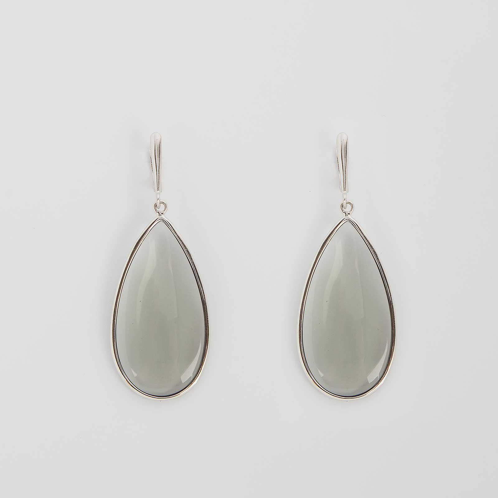 Серебряные серьги «Нежность»