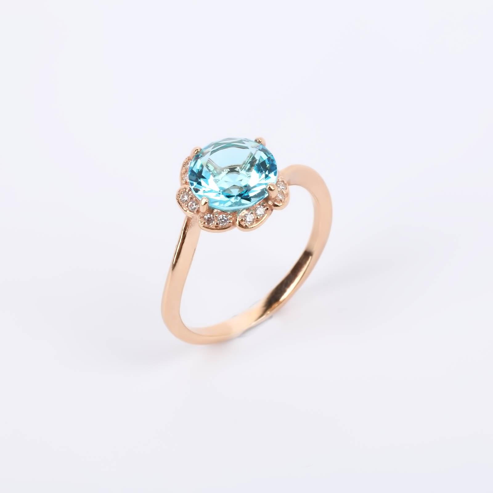 """Серебряное кольцо """"Цветочек"""""""