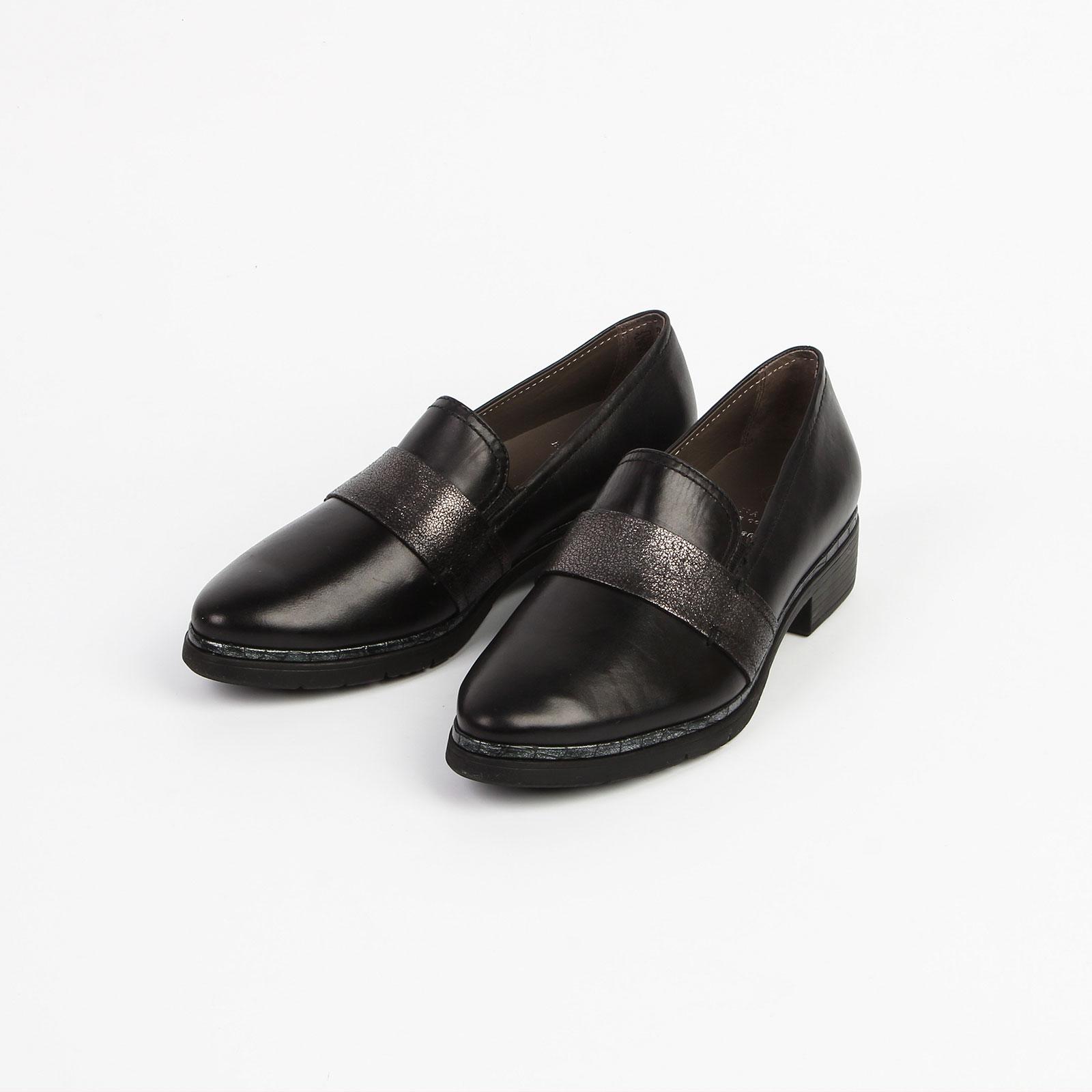 Туфли женские с декоративным швом