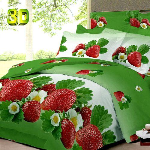Комплект постельного белья «Клубника»