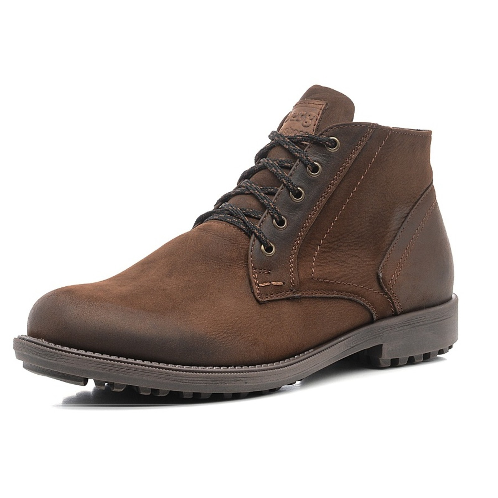 Мужские ботинки из натурального нубука