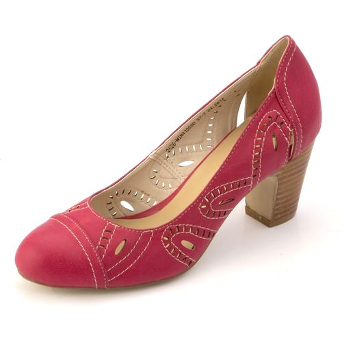 Женские туфли с закрытым мысом
