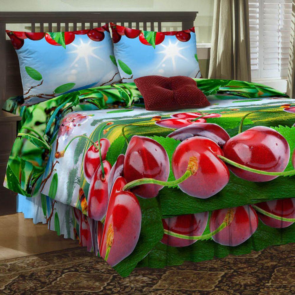 Комплект постельного белья «Спелая черешня»