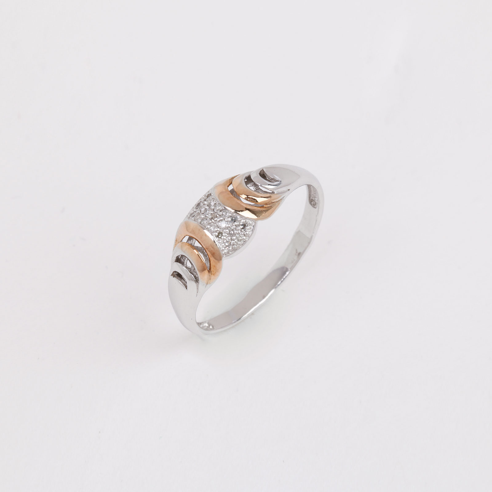 Серебряное кольцо «Золото морей»
