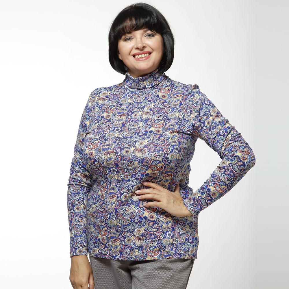 Блуза с оригинальным воротом и принтом виброплатформы для похудения в алматы в интернет магазине