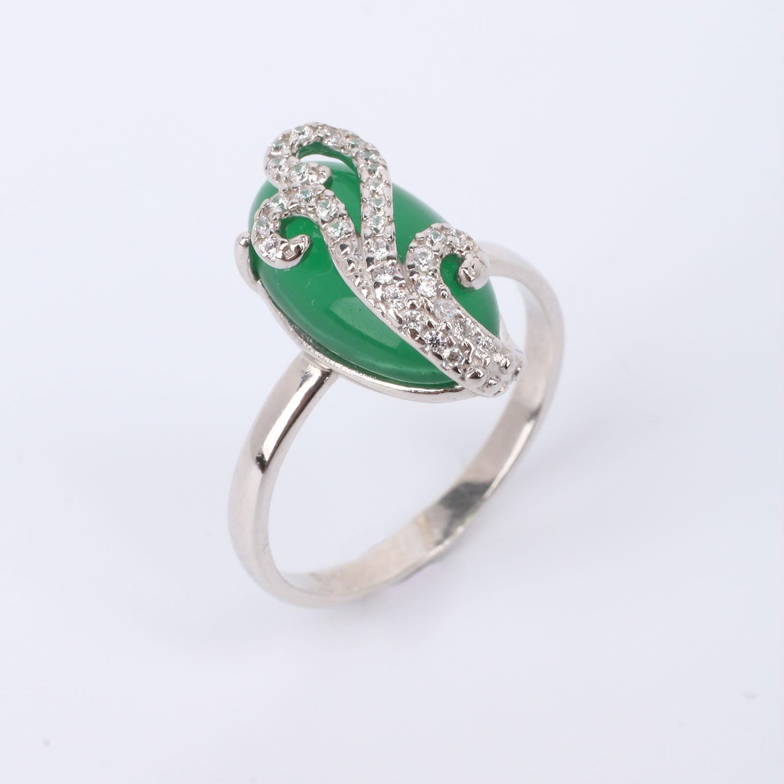 """Серебряное кольцо """"Великолепная маркиза"""""""