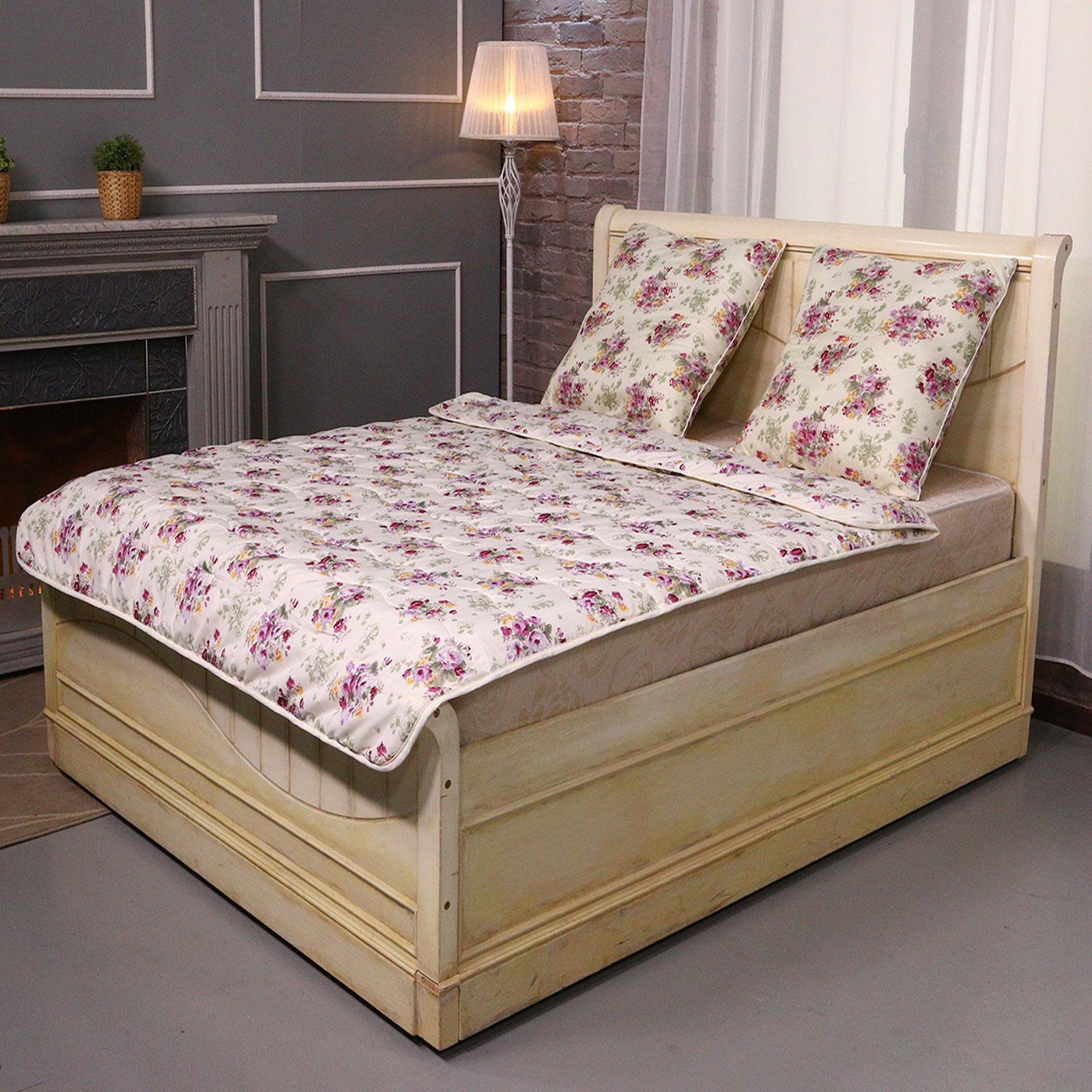 """Комплект одеяло + подушка """"Цветочный вальс"""""""