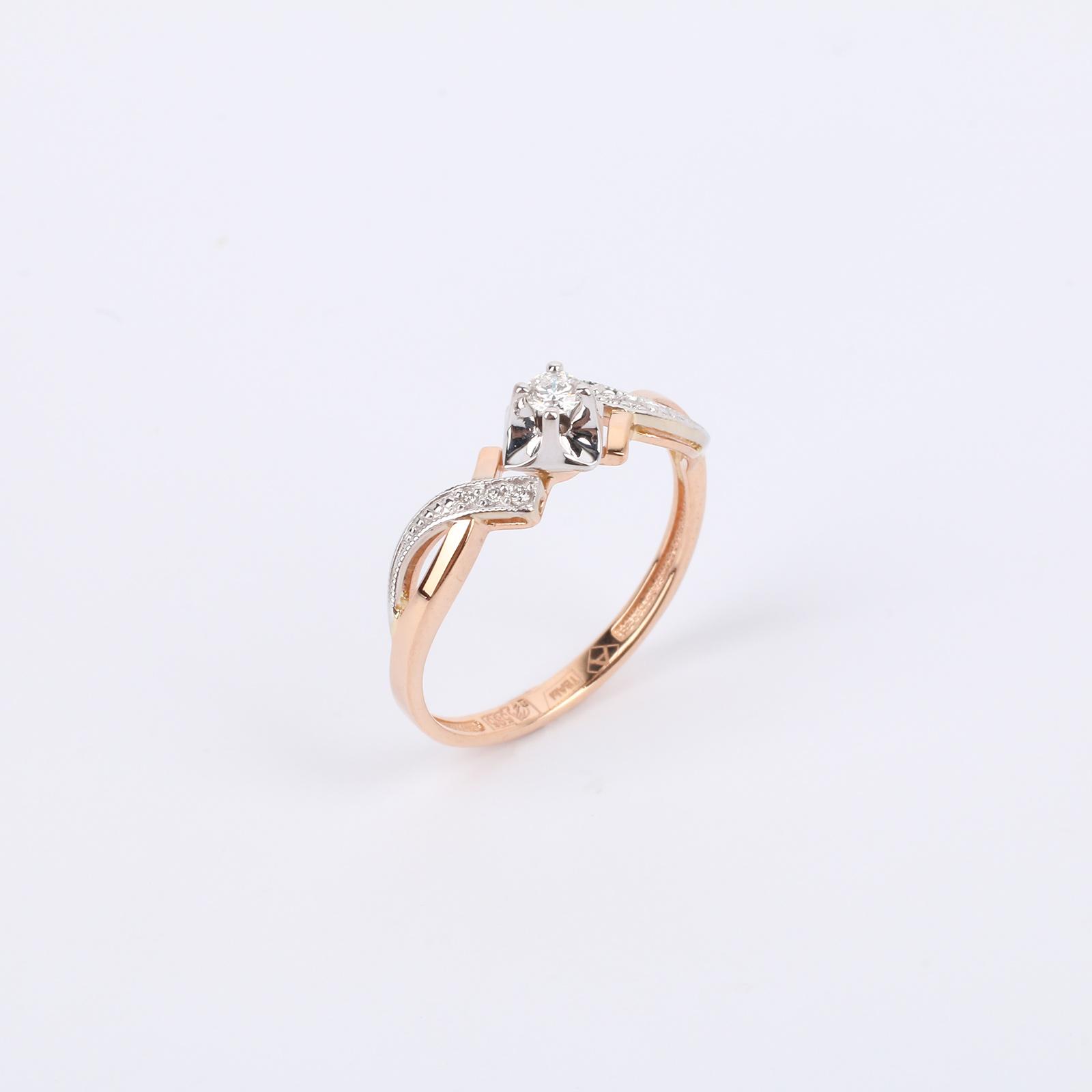 """Золотое кольцо """"Роскошная Амелия"""""""